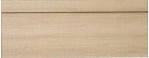【シモンズ】 フラット ヘッドボードのみ ミディアム色 ダブルサイズ