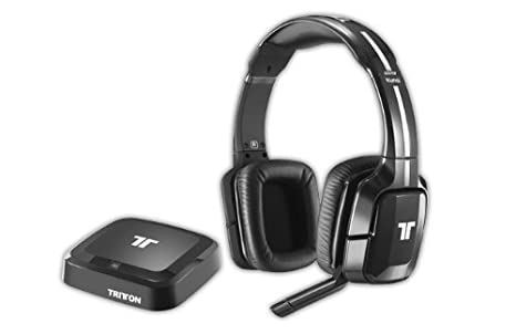 Tritton - Auriculares Inalámbricos Kunai, Color Negro (PS4, PS3, Xbox 360,
