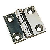 Steel Line Stainless Sea Dog (Sea Dog 205140-1 Stainless Steel Butt Hinge, 1-5/8 x 1-1/2-Inch)