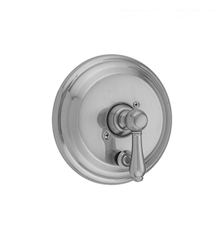 Polished Copper Jaclo A376-TRIM-PCU Traditional Round Pressure Balance Valve with Diverter and Lever Handle
