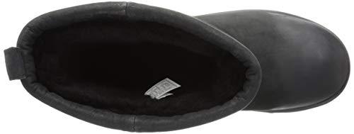 339790f7e79 UGG Women's Classic Short L Waterproof, Black, 5 M US