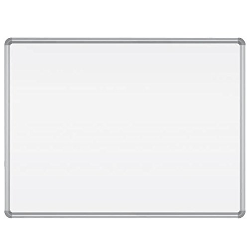 TableTop King 219PH Magne-Rite 48'' x 96'' Magnetic Whiteboard with Silver Aluminum Frame