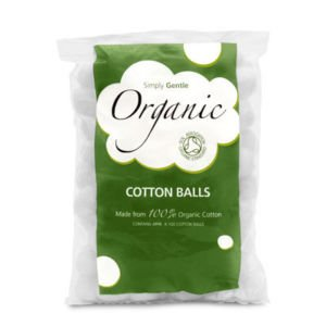 (Simply Gentle Organic Cotton - Pack of 100 Balls)