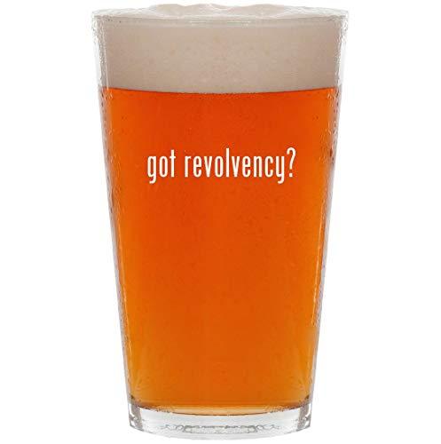 got revolvency? - 16oz All Purpose Pint Beer Glass