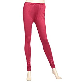 ClickonStyle Red Skinny Leggings Pant For Women