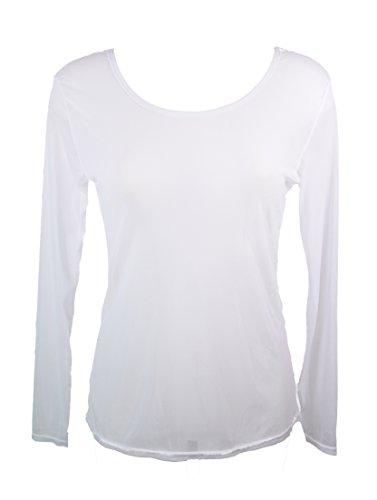 Maglietta in alta Rouge Miss Bianco trasparente voile parte 5RACCq