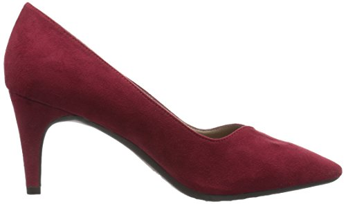 Tacón Vestir Mujer Expert Fabric Aerosoles Red para Rojo de xSwfCqn