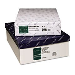 * Crane's Crest 100% Cotton Paper, 24-lb., 8-1/2 x 11, Fluorescent White