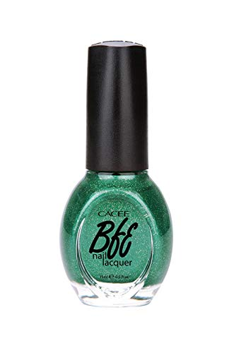 - Premium Green Nail Polish 0.5oz, Professional Choices of Color, Glitters, Matte, Holographic, Nail Art, Confetti by Cacee (Christmas Green Glitter, Dena, 390)