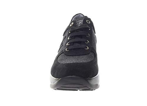 Femme LIU 20210 Sneakers L4A4 0218 GIRL Noir JO wxaq7tYrx