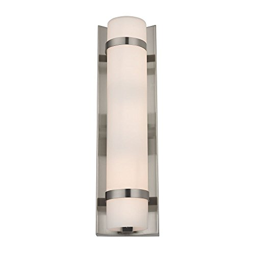 Bath Duo - Duo Satin Nickel Bathroom Light - Vertical Mounting Only