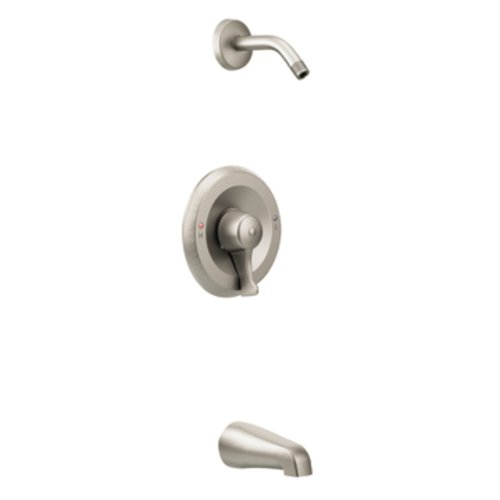 Moen T8389NHCBN Commercial M-Dura Posi-Temp Tub/Shower Trim without Showerhead, Classic Brushed Nickel ()