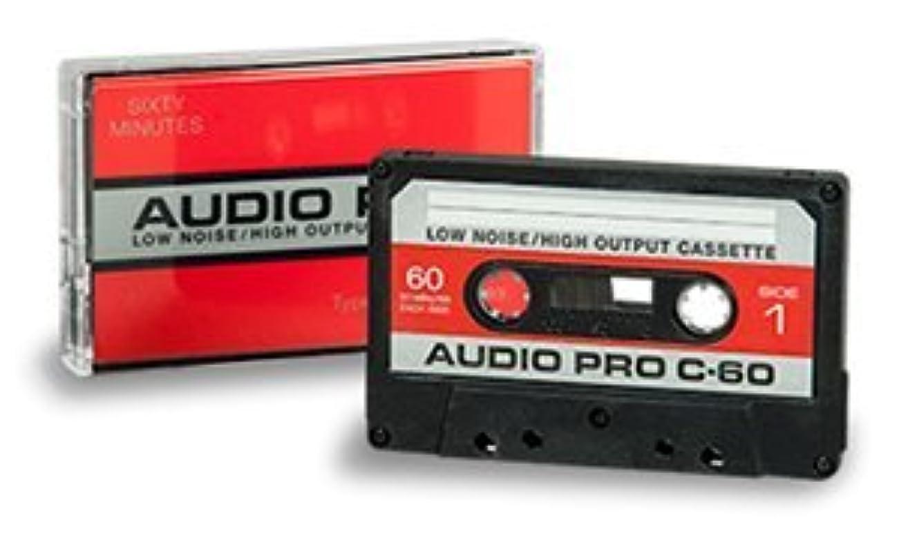 噛む石膏土曜日カセットテープノーマルポジション 120分 4巻