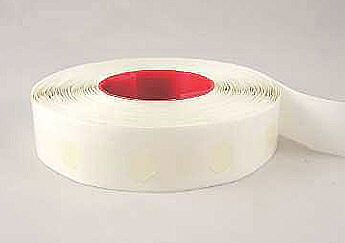 "Dot Shot Super High Tack Low Profile Glue Dot, 1/2"" Diameter, Clear, Roll of 1500 (GD104R)"