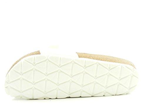 Rohde Damen Alba Pantoletten Weiß (Weiß)