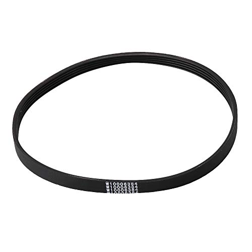 Washer Replacement Belt (BQLZR Washer Belt Drive Belt Replacement Fits Following W10006384 WPW10006384 PS2579381)