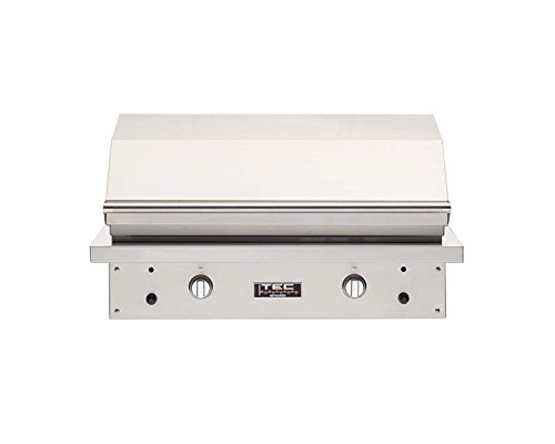 TEC Sterling Patio 2 FR Infrared Built-In Grill (STPFR2NT), Natural Gas