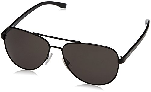 Hugo Boss 0761/S 10G Matte Black 0761/S Aviator Sunglasses Lens Category 3 Size