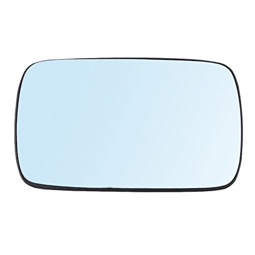 - Passengers Power Side View Mirror Blue Tinted Glass with Base Heated Replacement for BMW 3 & 5 Series 51168250439 AutoAndArt