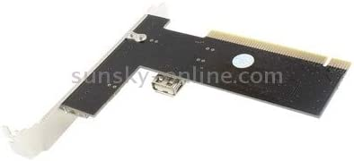 USB 2.0 4+1 Ports PCI Card