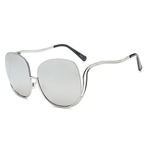 Lunettes de soleil dames/Lunettes de soleil de mode grosse boîte vintage ladies/Tendances lunettes de soleil polarisées de conduite-H weaN5