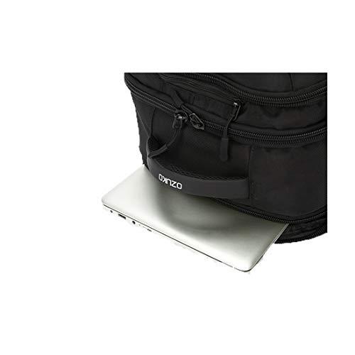 Con Simple Hombres color Gray Computadora Portátil Trabajo Black Viaje Comercio Mochila Para Interfaz Usb Ploekgda De wt0qfSn