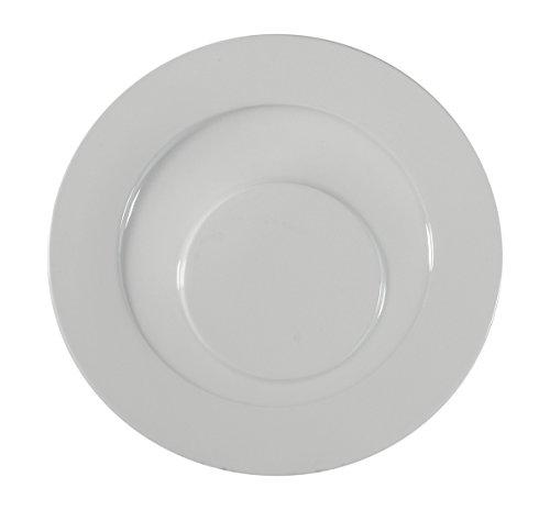 CIM High Gastronomy Lido-Set of 6Dinner Plates, 31.5cm, White
