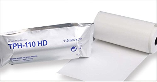 Ultrasound Paper (10) - 110HD - Sony Video Imaging Replacement - High Density Thermal Ultrasound (High Density Thermal)