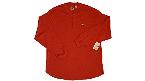phat-farm-mens-big-tall-long-sleeve-henley-crew-neck-shirt-waffle-orange-3x