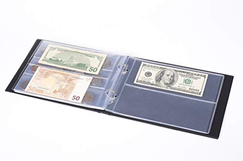 3in1 Coin Holder Album 180 Pockets - Paper Money Collection
