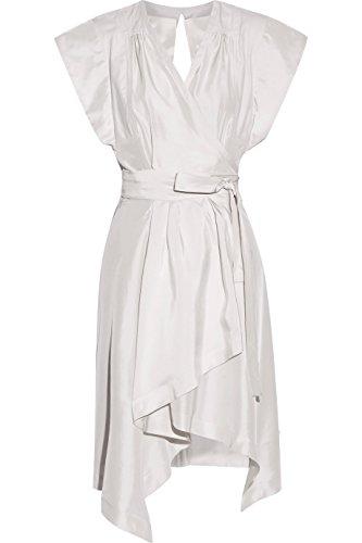 Isabel Marant Lief Stone Silk Wrap Dress 38 ()