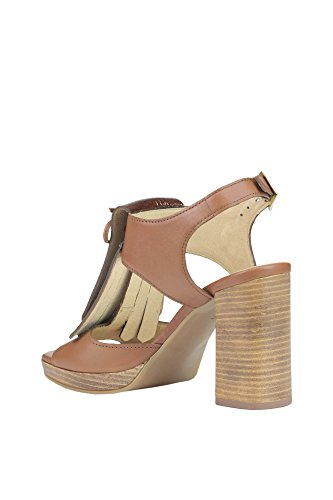 Manas Sandals Brown MCGLCAT03015E Women's Leather rqR0gnICwr