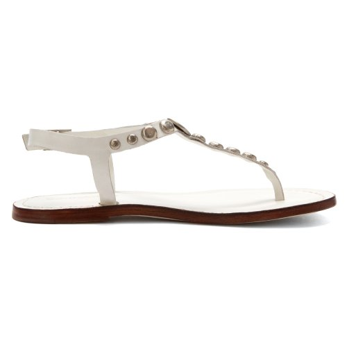 White Bernardo Mojo Womens Sandal Flat white Calf Womens Bernardo Calf fa7FYq