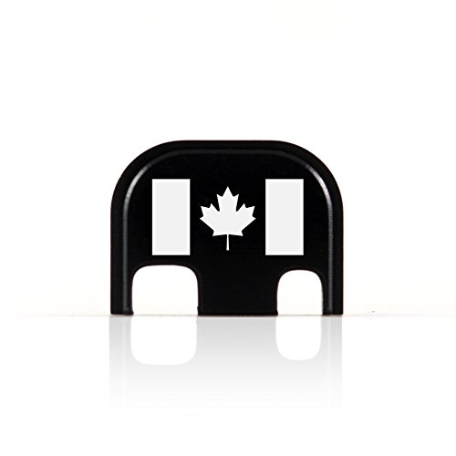 Canadian Flag Rear End Cover Back Slide Plate for Glock Canada Maple Leaf