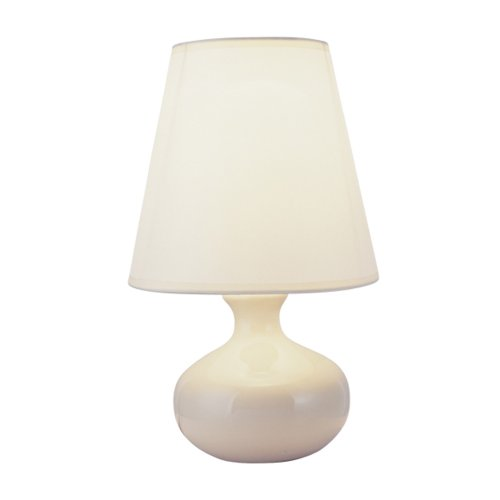 Ceramic Lamp 12 - ORE International 625 12-Inch Ceramic Table Lamp, Ivory with Empire Lamp Shade