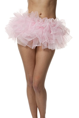 Halloween Tutus For Adults (Adult Tutu Skirt, by BellaSous. Perfect as a Halloween Costume, Princess tutu, Ballet tutu, Adult Dance Skirt, or as a Petticoat Skirt. Plus size tutu available. Standard - Light Pink tutu)