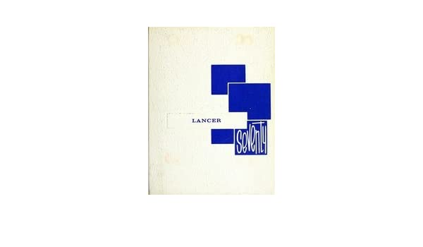 Custom Reprint Yearbook 1970 Lincolnview High School Lancer