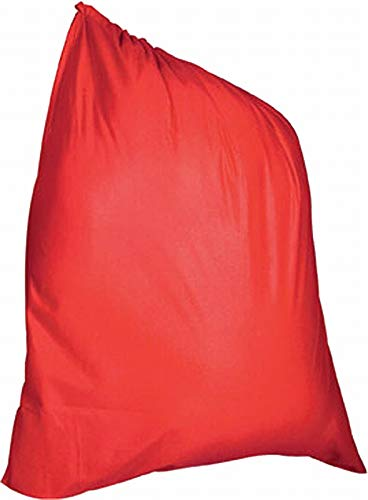 Rubie's Velour Santa Bag, Red, One Size