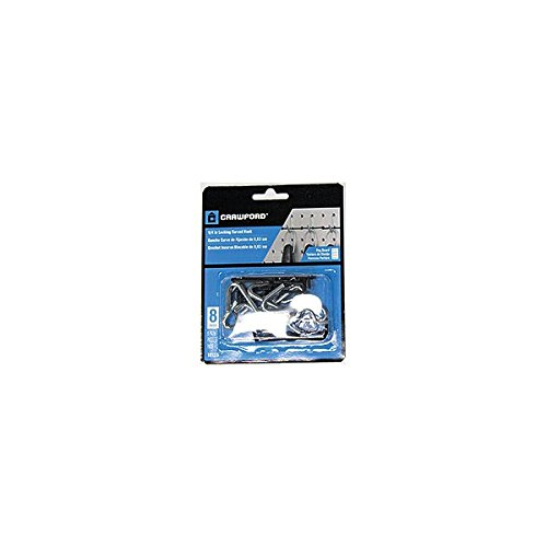 Crawford 18125 Curved Light Duty Peg Hook Pack of 12