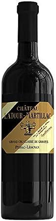 X6 Château Latour-Martillac 2012 37,5 cl AOC Pessac-Léognan Rouge Grand Cru Classé Vino Tinto