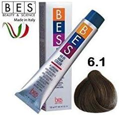 BES, Hi-Fi Color 100 ml 6.1 Rubio Oscuro Ceniza