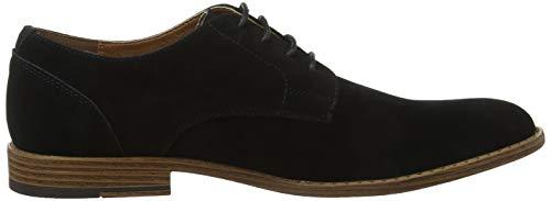 Uomo Nero 01 Stringate Scarpe Derby Black Tiber Look New wqzxTSYXZ