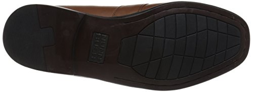 Nunn Bush Mens Keaton Moc Teen Kilty Kwastje Loafer Slip-on Loafer Zadel Tan