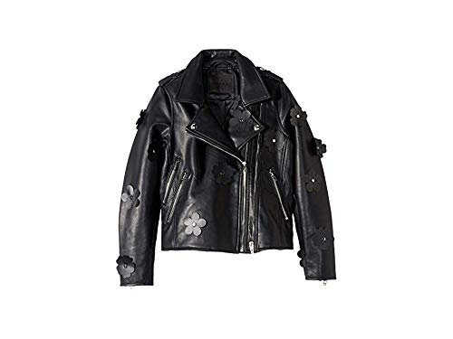 [BLANKNYC] Big Girl's Vegan Leather Moto Jacket Outerwear, It Takes Two, L