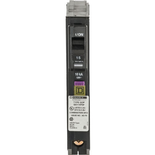 Square D by Schneider Electric QO Plug-On Neutral 15 Amp ...