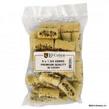 LD Carlson 4102 Premium Quality Corks 9 x1 3/4 (Pack of - Ct 9 30