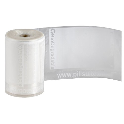 Pill Suite Pill Pouch 400 Count Refill - for use with the Pill Suite System (2 rolls of 200) (Refill Pouch)