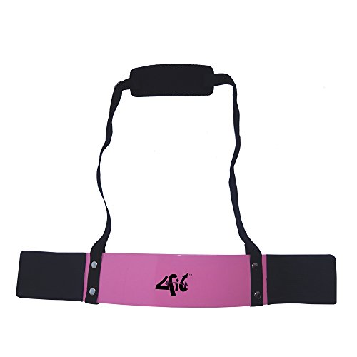 4fit Heavy Duty Arm Blaster Body Building Bomber Bicep Curl Triceps Pink