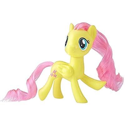 My Little Pony Mane Pony Fluttershy Classic Figure: Toys & Games