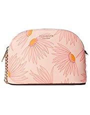 Kate Spade New York Spencer Small Dome Crossbody Bag in Falling Flower Pink Multi
